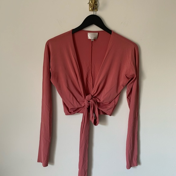 Wilfred Le Fou Wrap Top